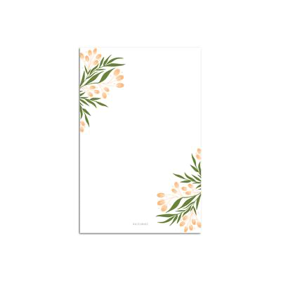 Tuscan Florals Notepad Large Notepad