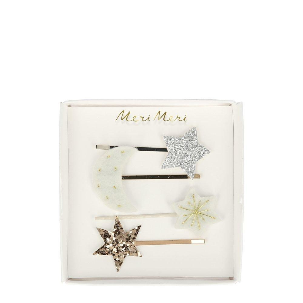 Meri Meri Moon & Star Hair Slides