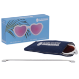 The Sweetheart Heart-Polarized with Mirrored Lens