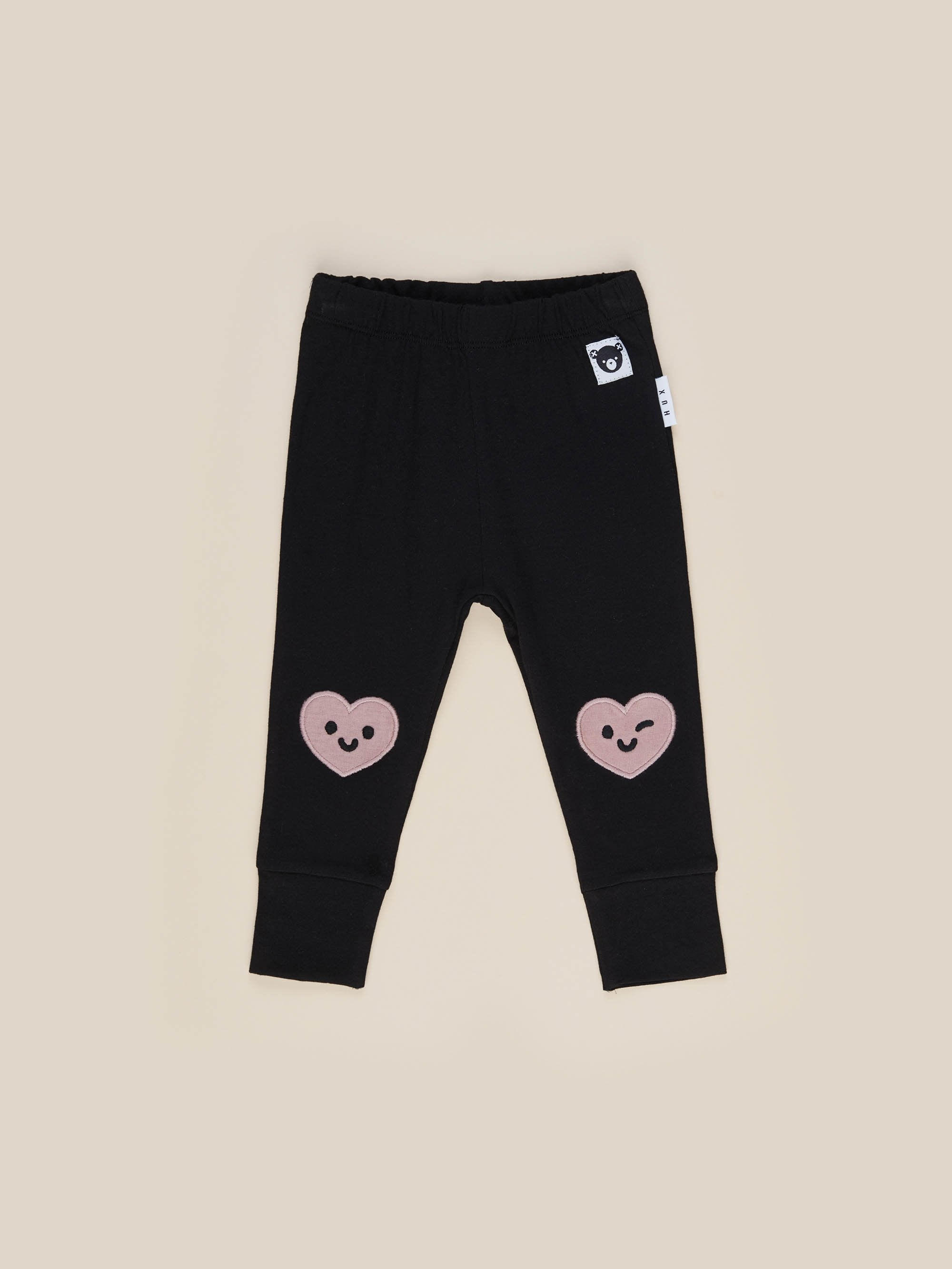 Huxbaby Heart Knee Leggings
