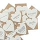 Sugarboo Paper Heart Cards With Envelopes Assorted Styles