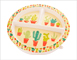 Ore Originals Happy Cactus Divided Suction Plate