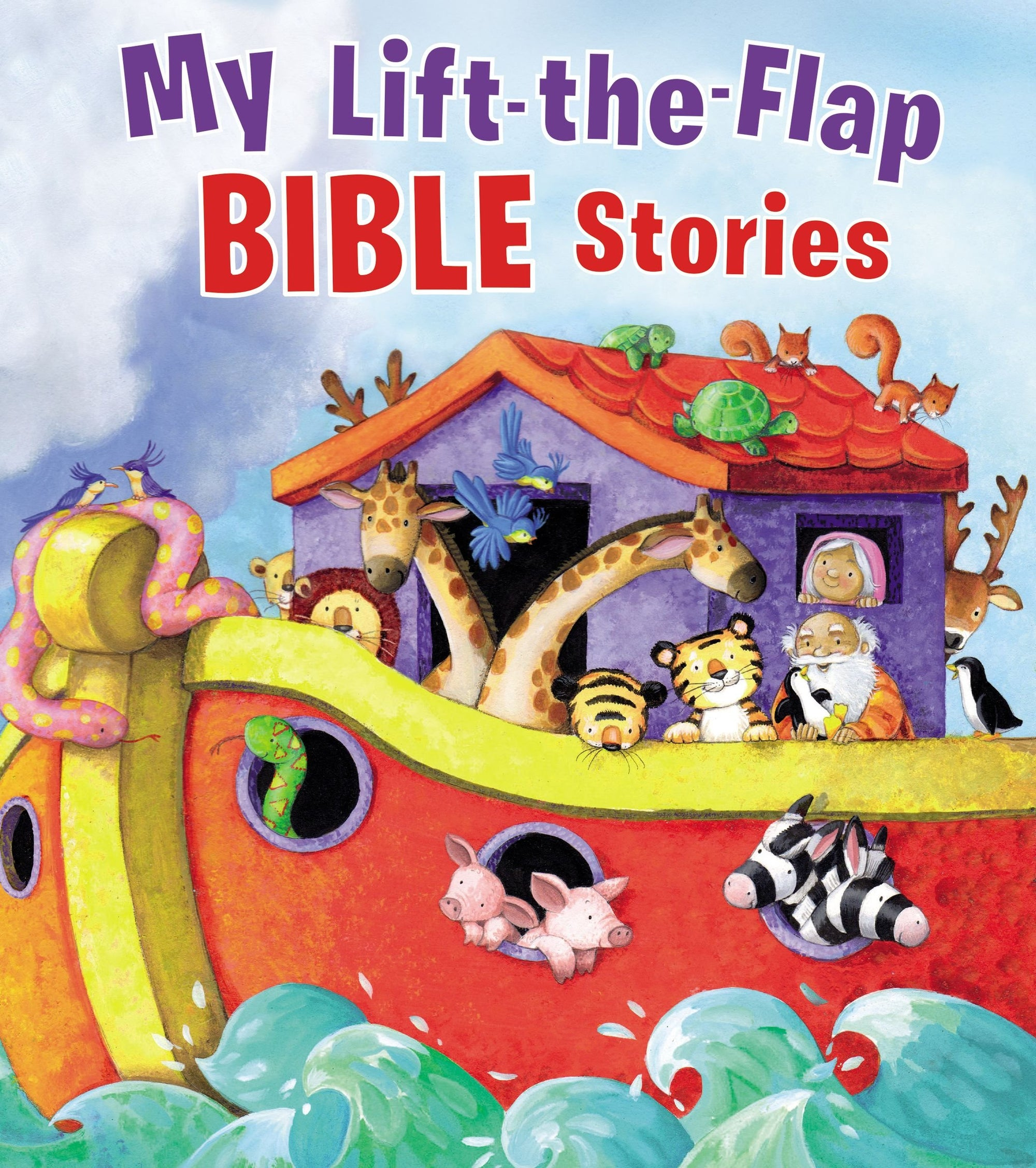 Lift the Flap Bible Stories