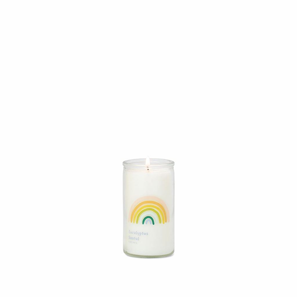Paddywax Spark Rainbow Prayer Candle-Eucalyptus Santal