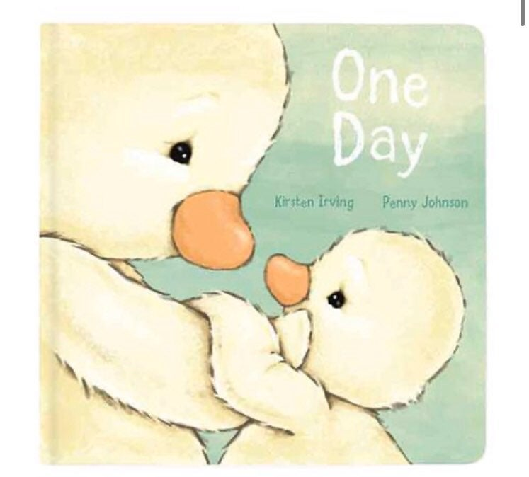 Jellycat One Day Board Book