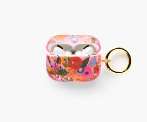 Rifle Paper Clear Blush Garden Party AirPod Case