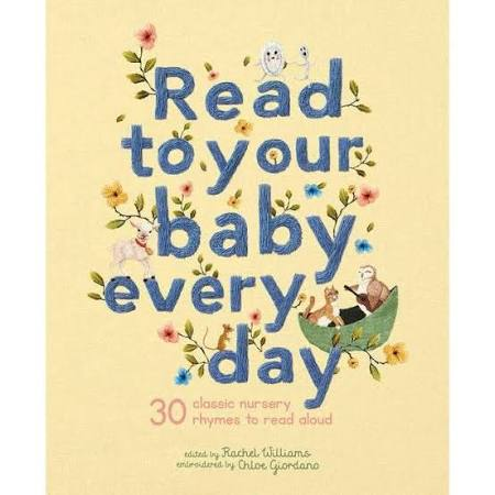Read To Your Baby Everyday Hardcover Book