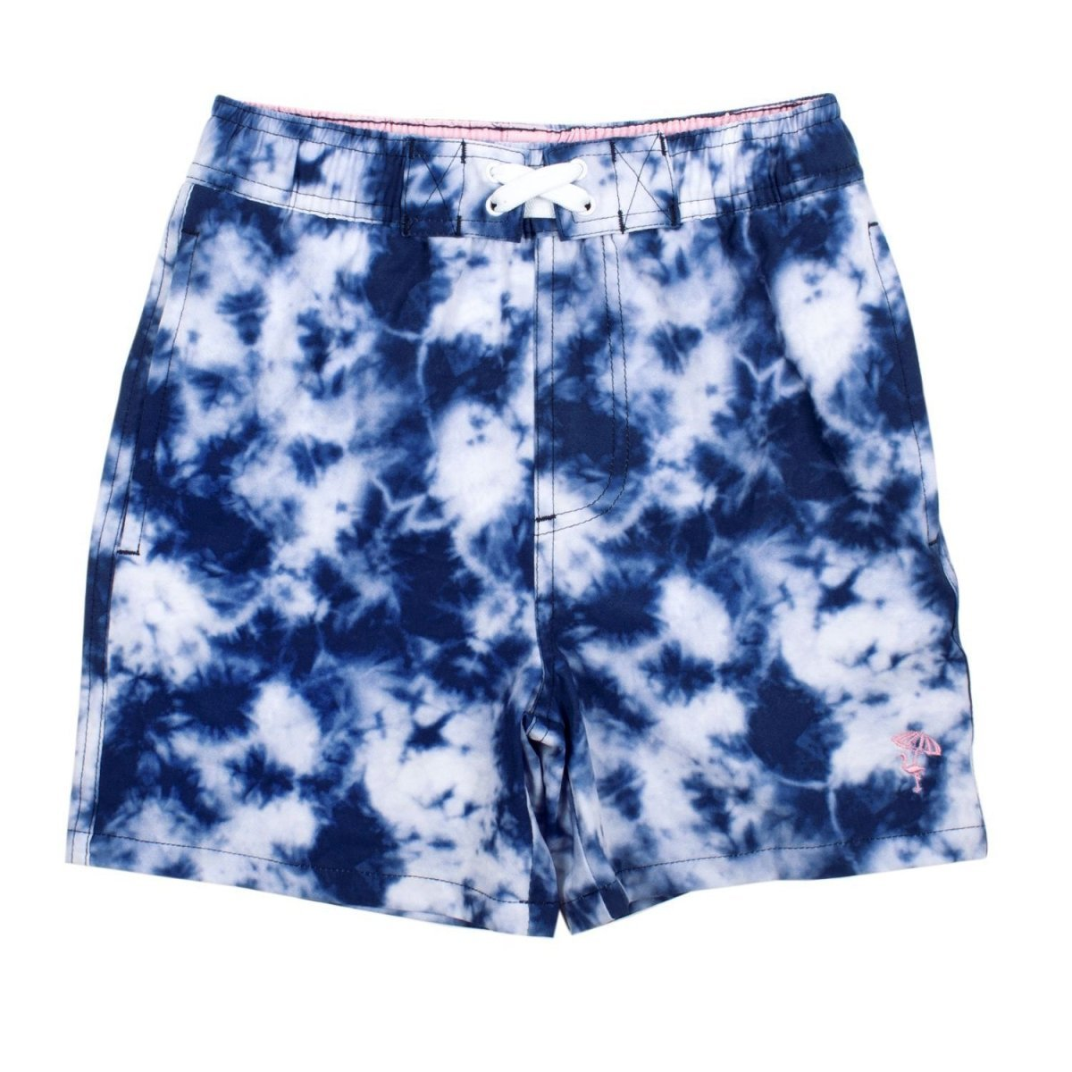 Shade Critters Boys Navy Tie Dye Trunks