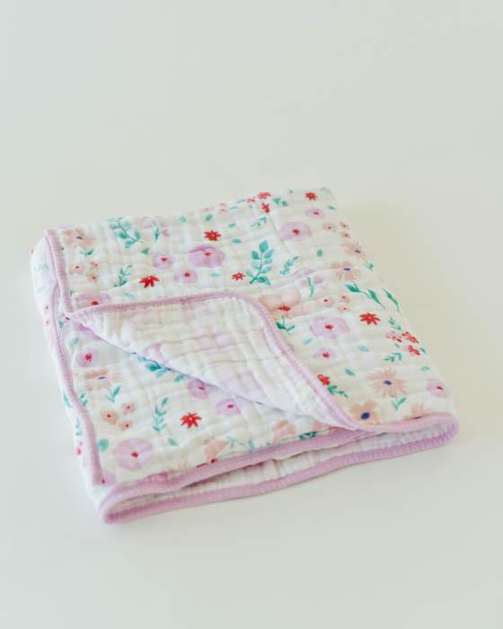 Little Unicorn Cotton Muslin Quilt-Morning Glory