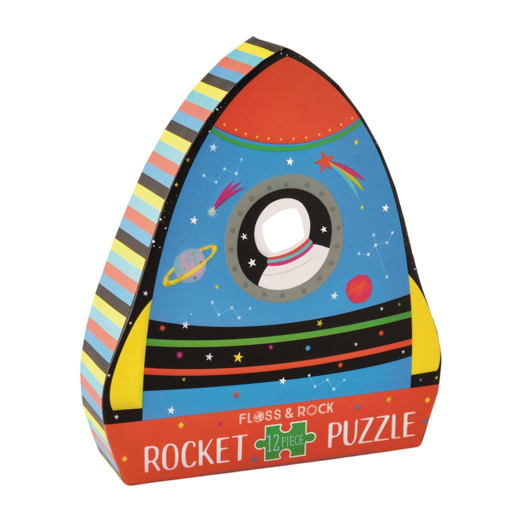 Floss and Rock 12 Pc Rocket Puzzle