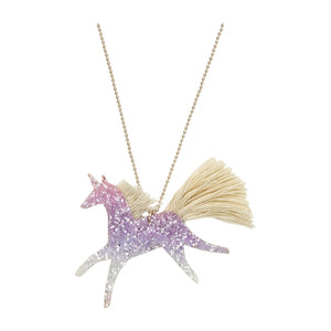 Glitter Meri Meri Unicorn Necklace