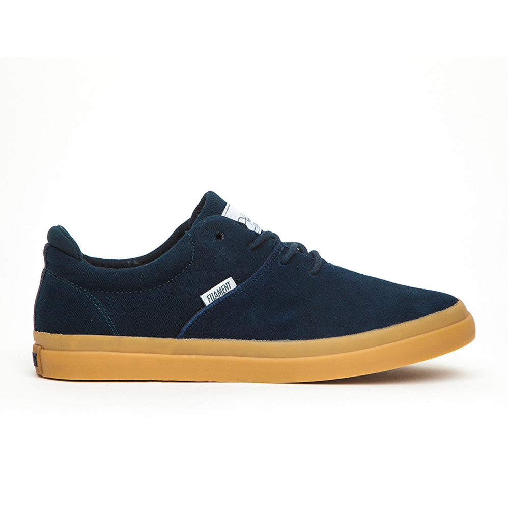 Romar - Navy Suede Canvas