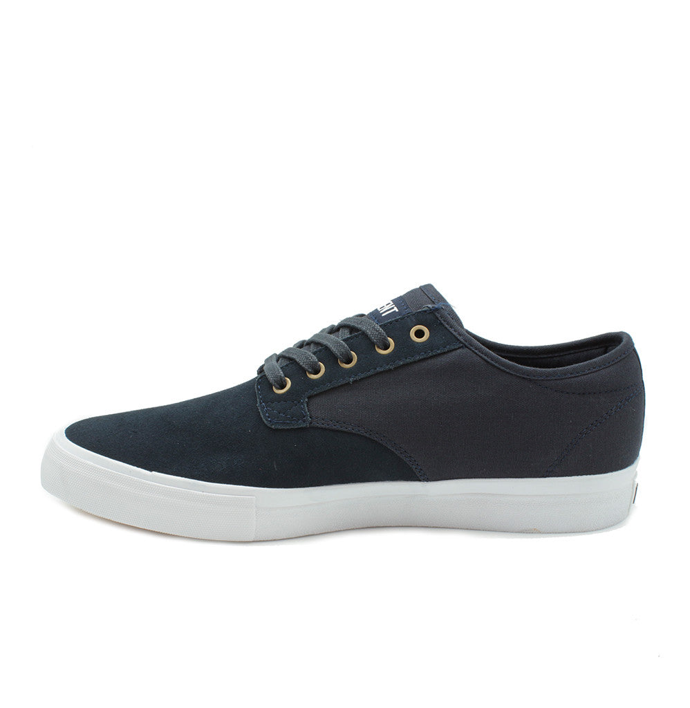 Vance - Navy/Suede/Canvas