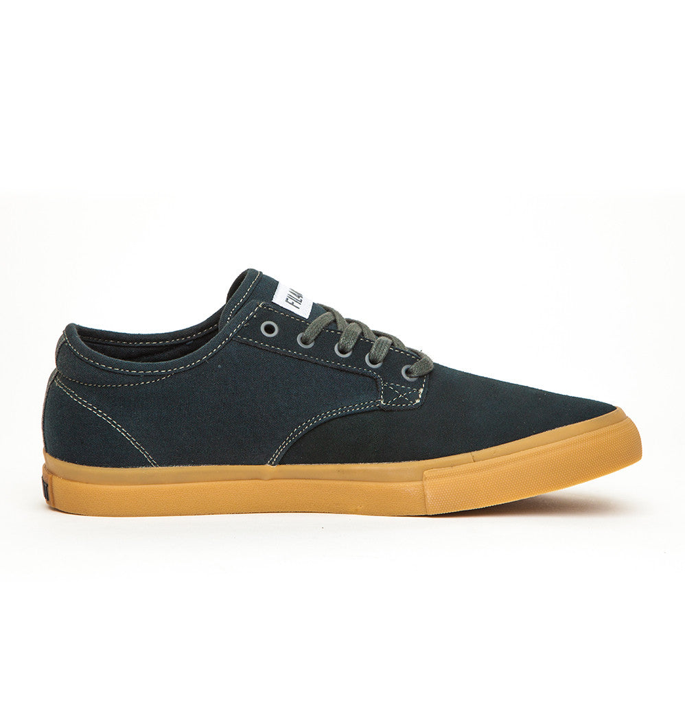 Vance - Dark Grey Suede Canvas