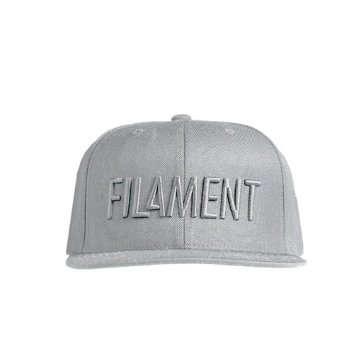 Filament Tonal 6 Panel Hat - Grey