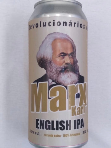 CERVEJA ENGLISH IPA MARX 500ML