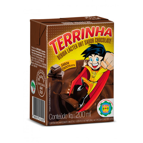 BEBIDA LACTEA DE CHOCOLATE TERRINHA 200ML