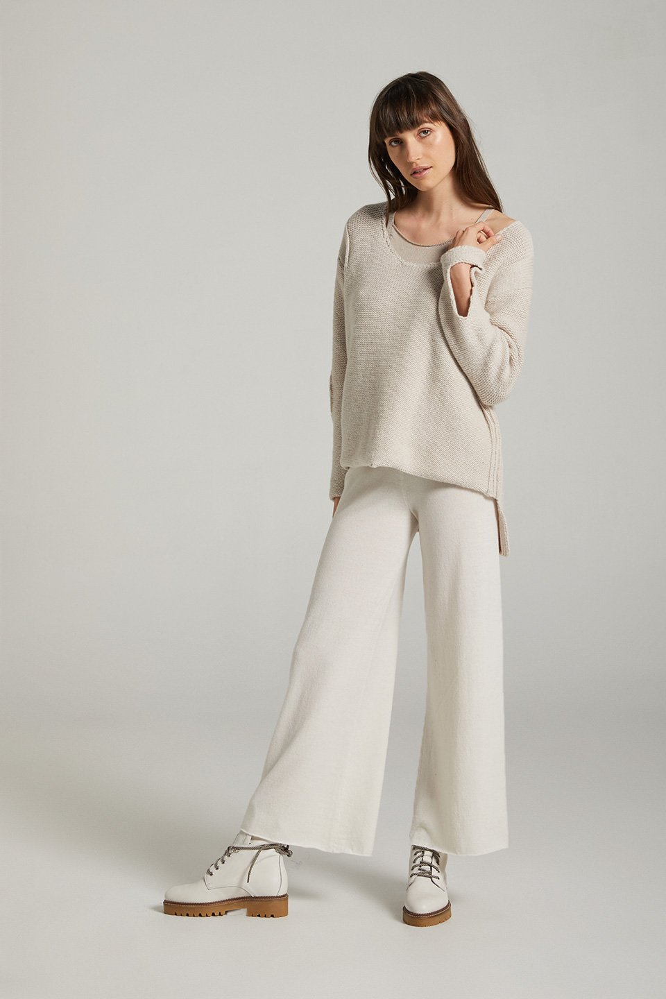 Sculpt Wool Jumper Oatmeal - Estilo Emporio - Shop the Shy Pony