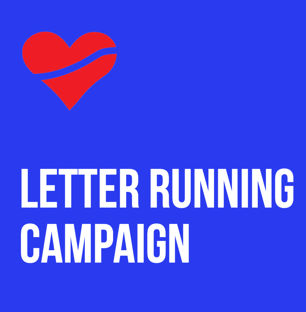 Letter Running Campaign | TODAY 10/13 @ ALL Heartbreak locations