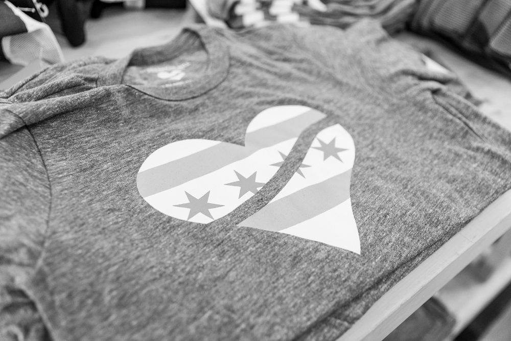 Chicago Heart Tee