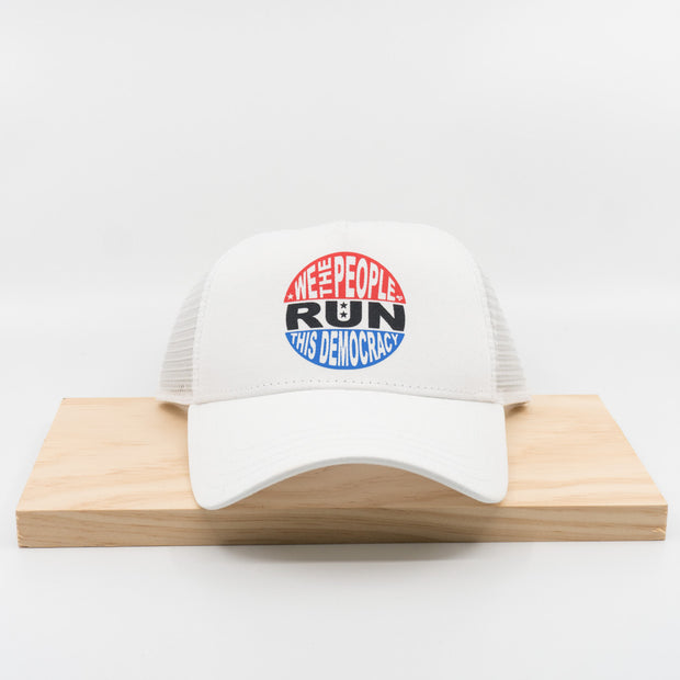 Heartbreak Run This Democracy Trucker Hat