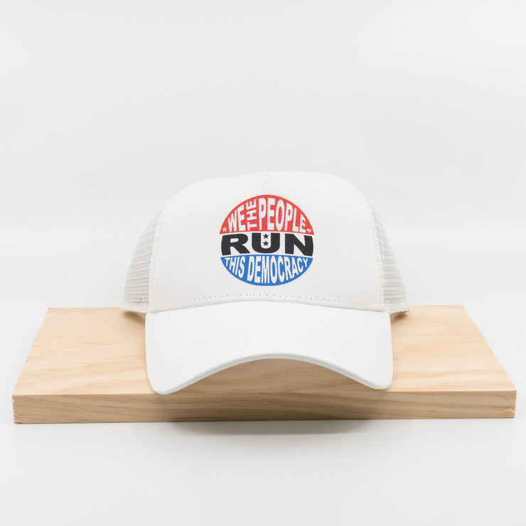 U Run This Democracy Trucker Hat