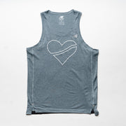 M Impact Singlet - Outline Heart