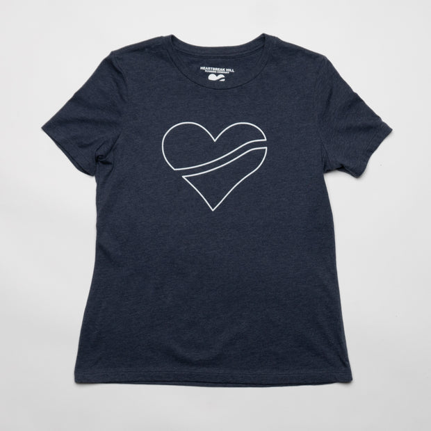 Heartbreak Women's Outline Heart Tee