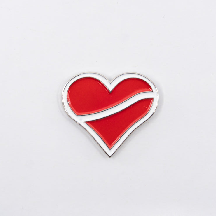 U Heartbreak Lapel Pin