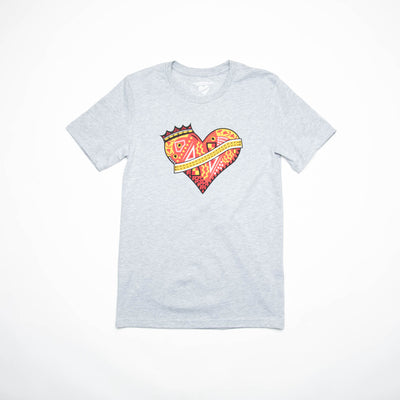 Heartbreak Crown Heart Tee