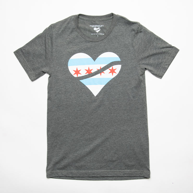Heartbreak Men's Chicago Heart Tee