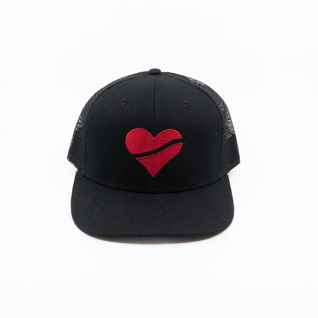 U Big Heart Trucker Hat