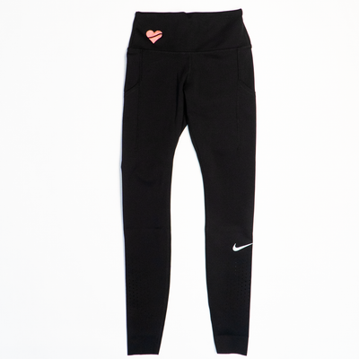 Nike Women's Epic Lux Tights - Embroidered Heart