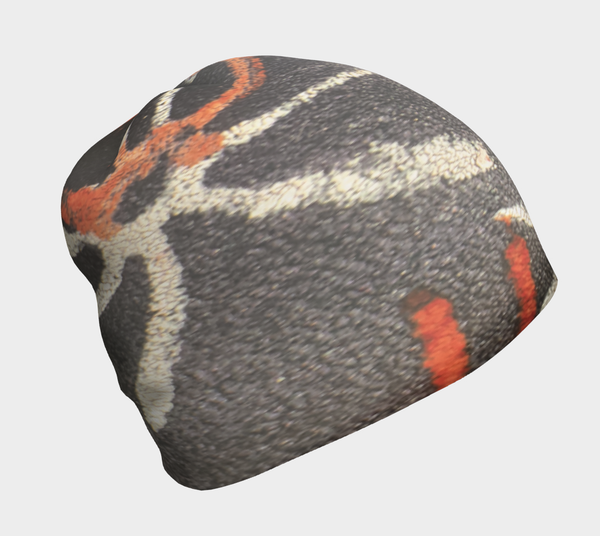 Beanie Cap -African Body Chalk Pinwheel- Multi-Color