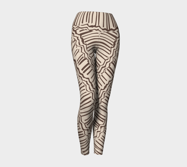 African Body Chalk - Yoga Legging - Ivory
