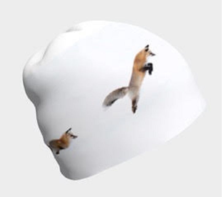 Beanie Cap- Red Fox