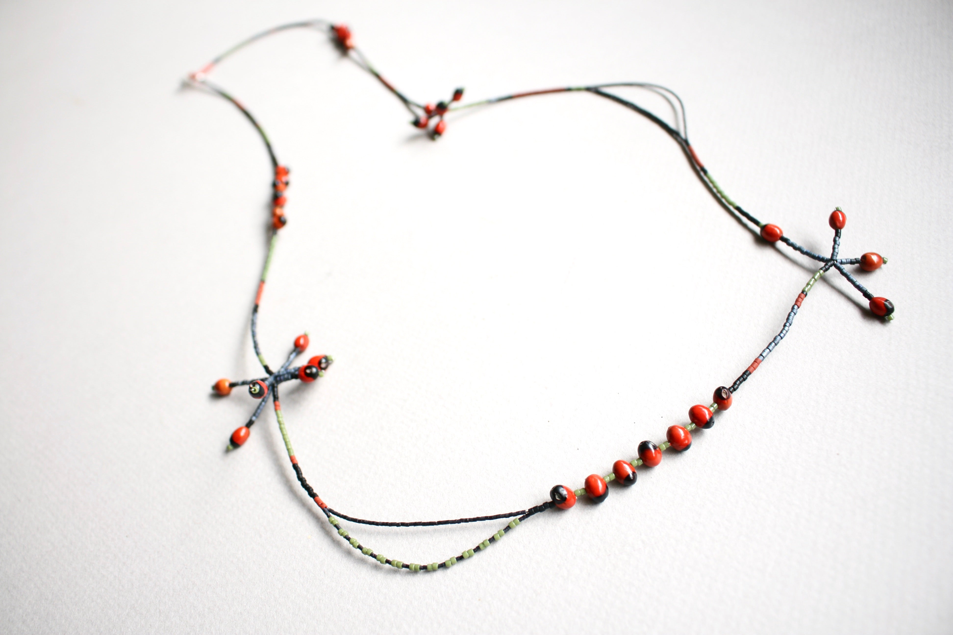 """BETSYBOO"" Seed Necklace *One-off* (SOLD)"