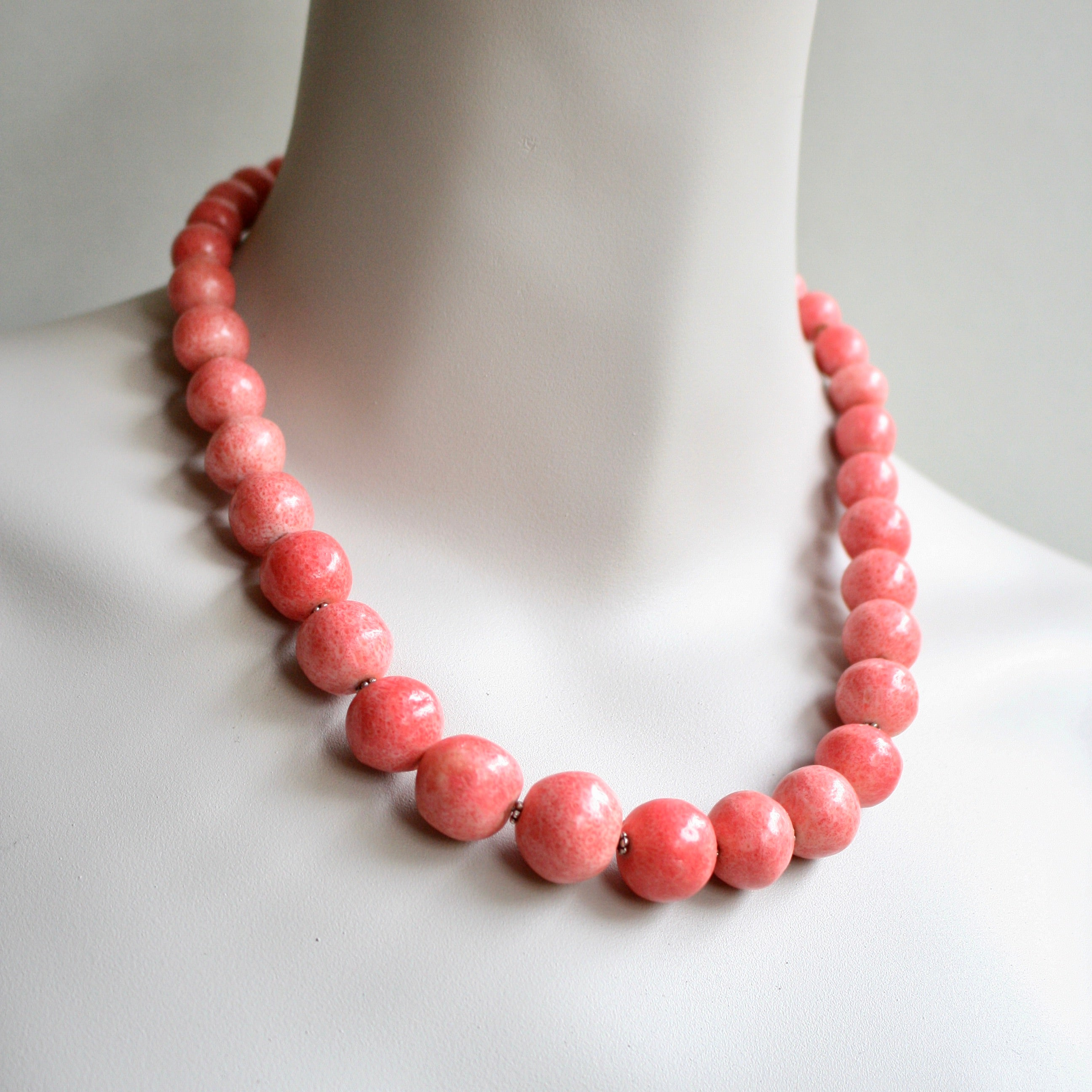 """GRACE"" Coral Necklace *One-Off*"