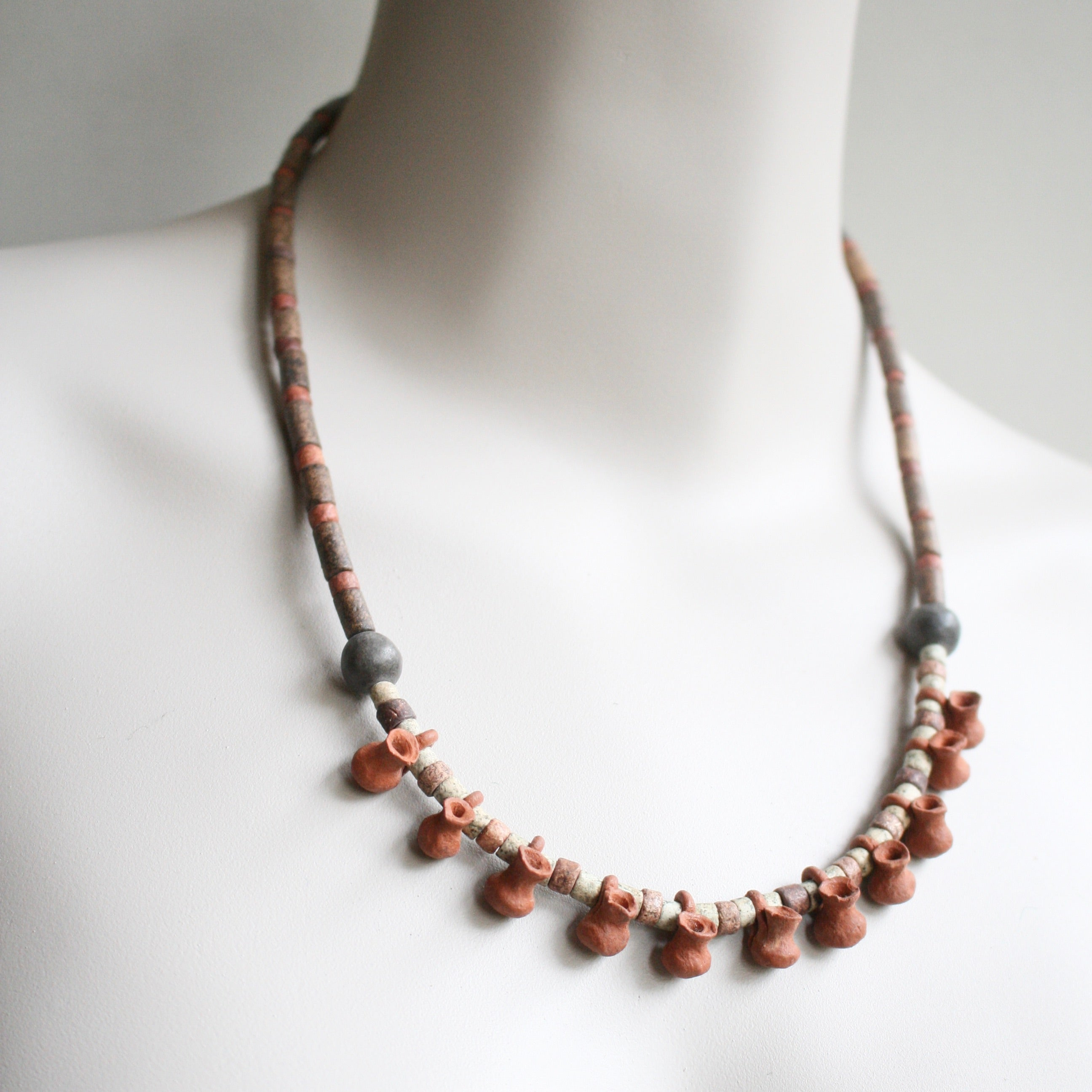 """CLAY JUGS"" African Tribal Necklace *One-Off*"