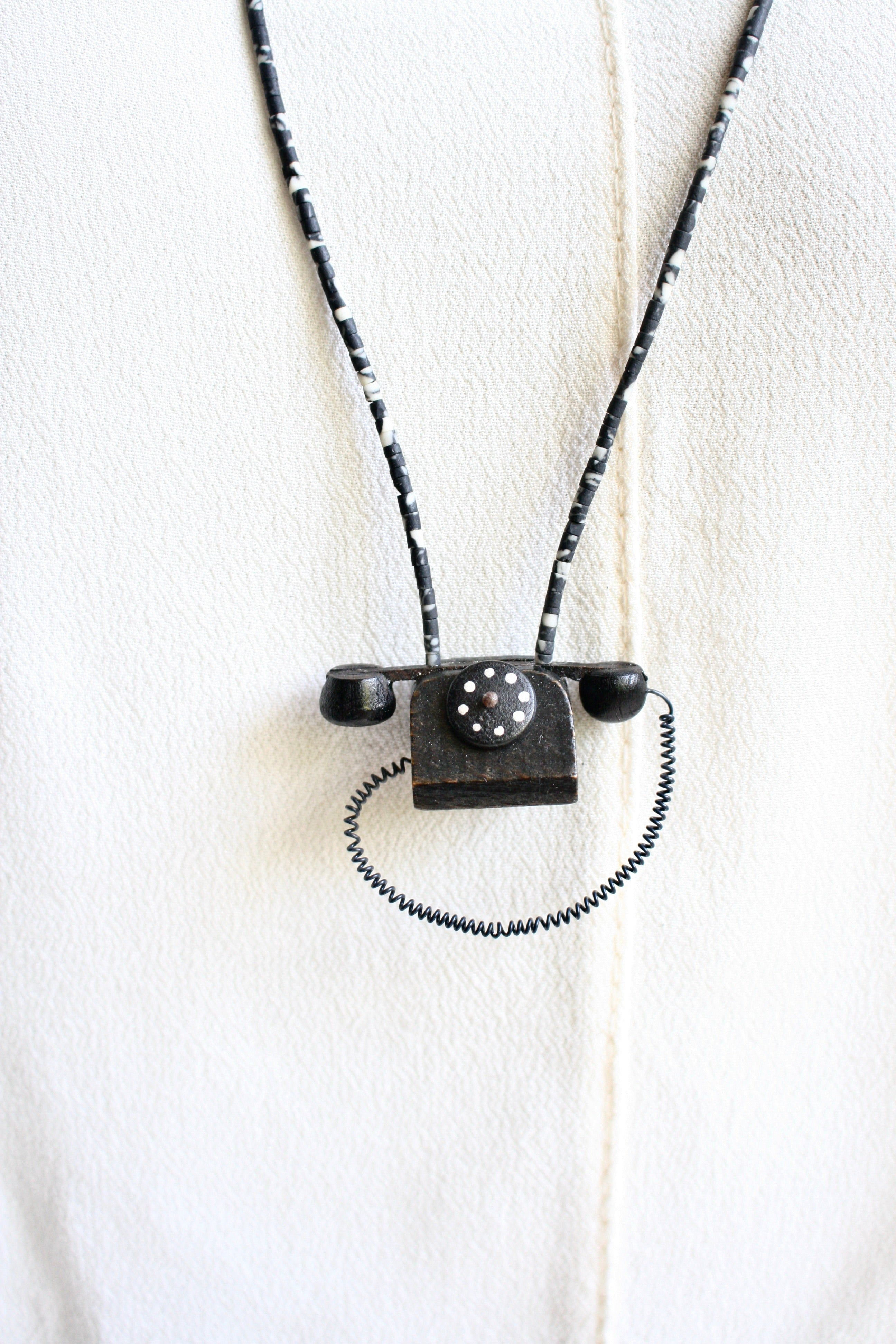 PHONE ME Necklace *One-Off*