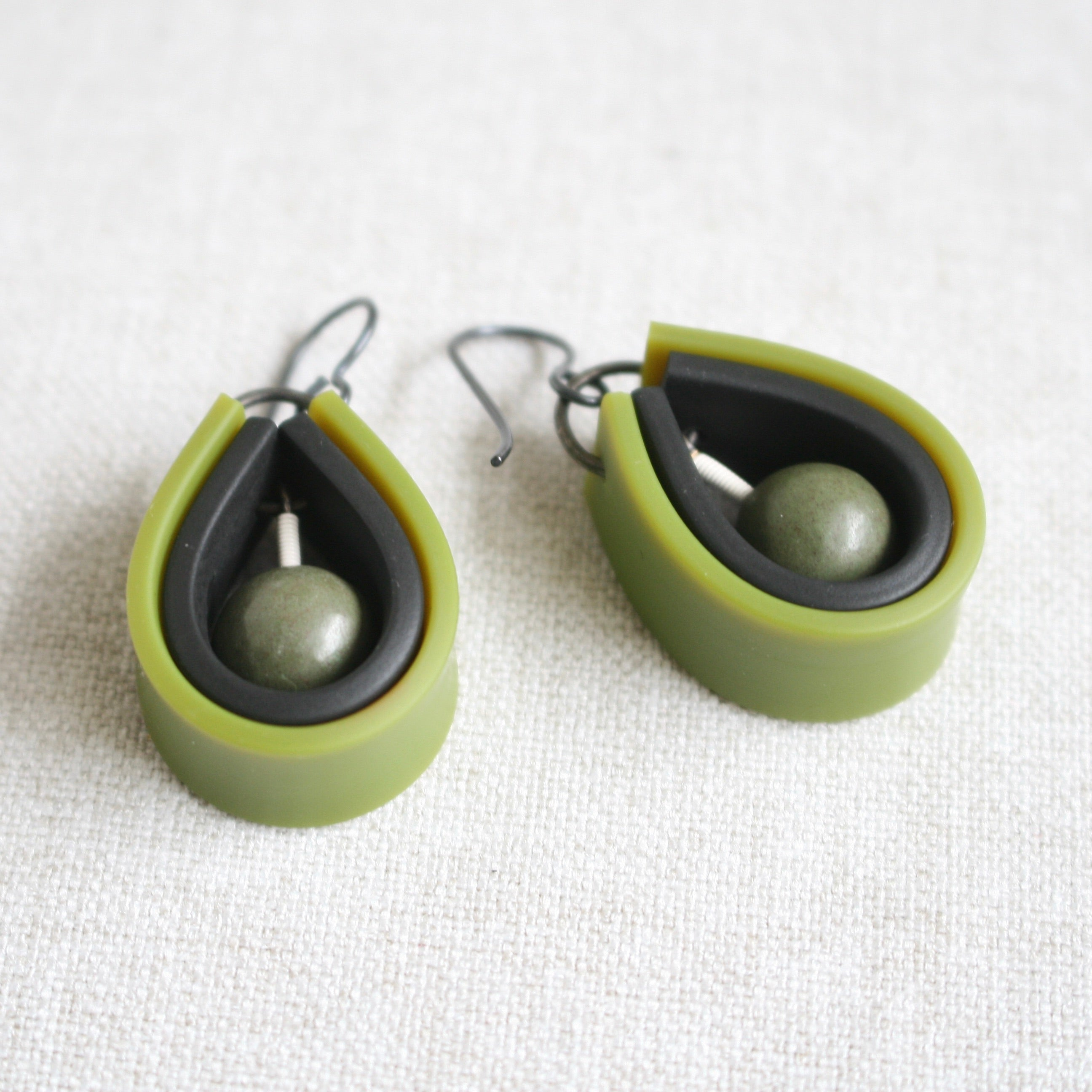 JENNY Earrings Green