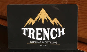 .Trench Gift Card (choose your value)