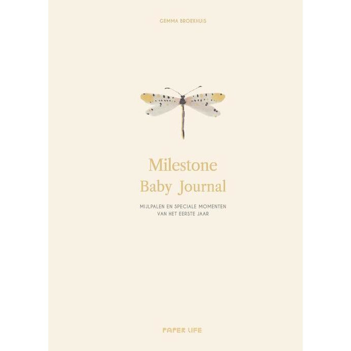 Milestone baby journal