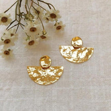 Afbeelding in Gallery-weergave laden, Gold plated earrings