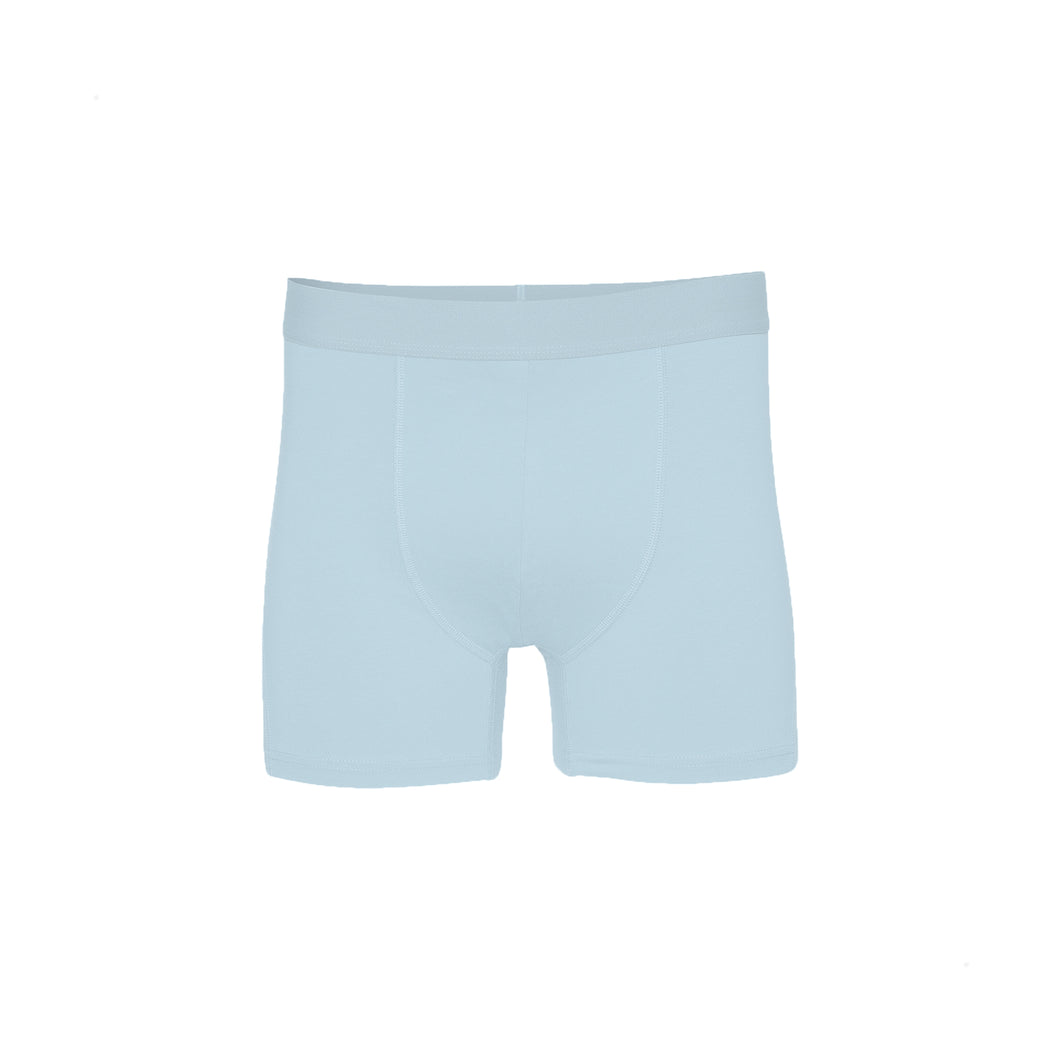 Classic organic boxer brief - Polar blue