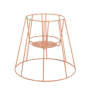 Cibele plant stand - dusty peach
