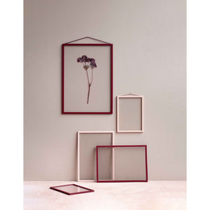 Moebe frame Deep red