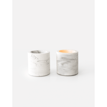 Afbeelding in Gallery-weergave laden, Morgan tealight white marble