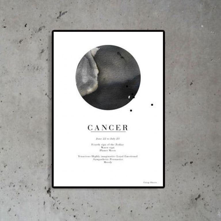 Zodiac Poster - Cancer
