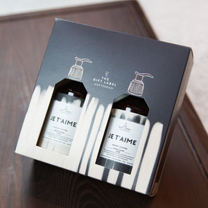 Gift set - Je t'aime (for him)